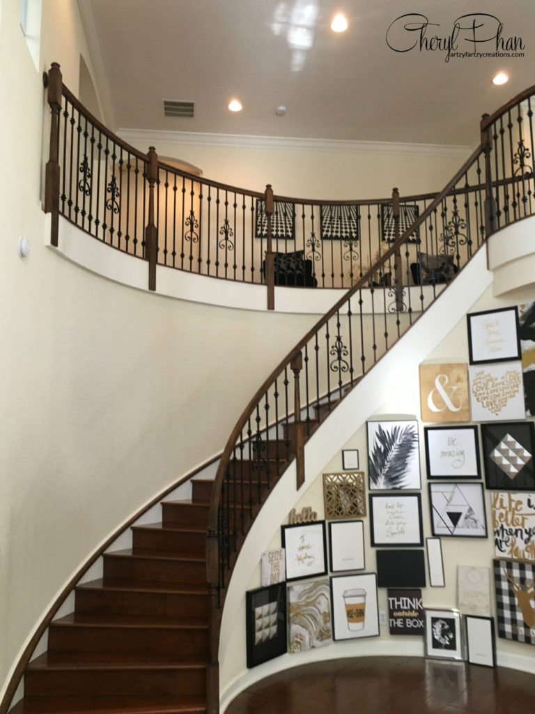 Stained Staircase Rail | Cheryl Phan