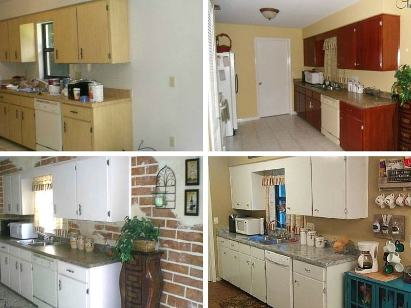 Kitchen Makeover 3-Times