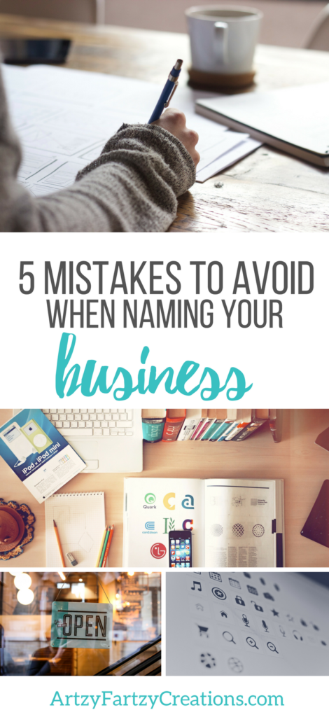 5 Mistakes to Avoid when naming your Business by Cheryl Phan _ Business Marketing _ Business Tips