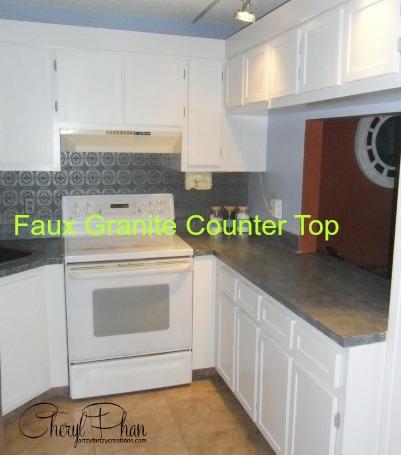 Counter Tops that look like Granite
