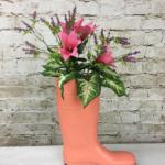 Spring boot planter ideas - Cheryl Phan