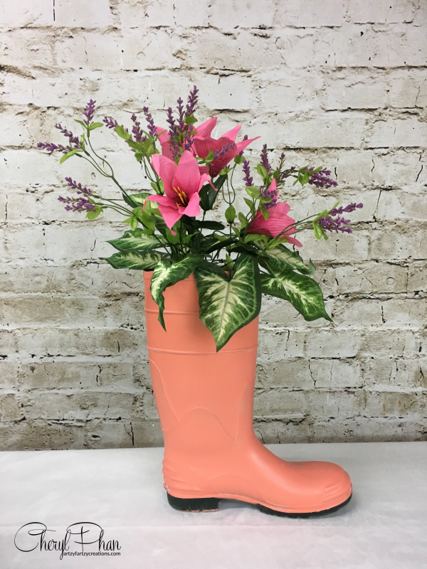 Spring boot planter ideas - Cheryl Phan