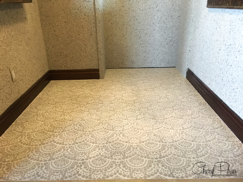 Tile Floor Makeover