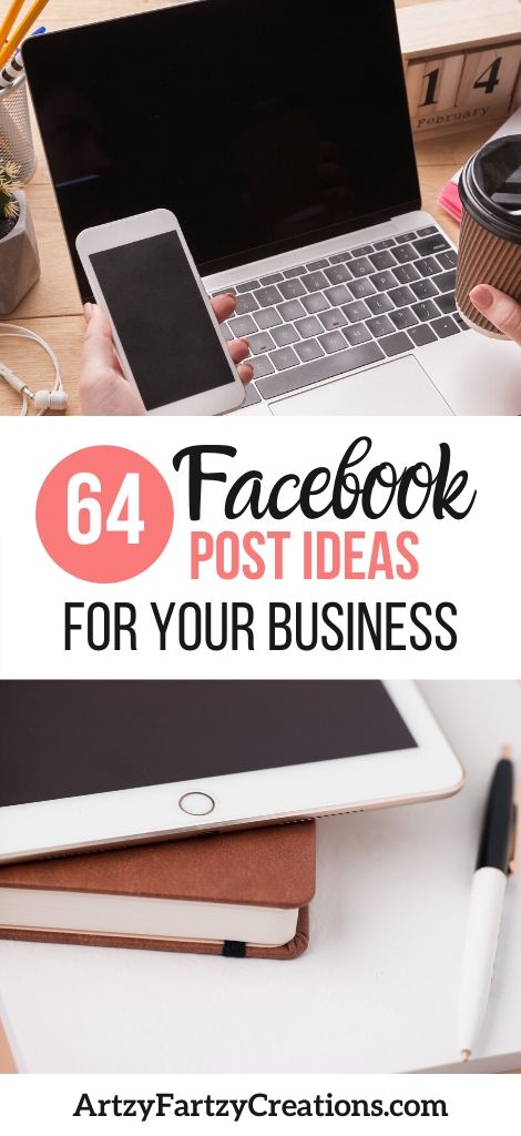 64 Facebook Post Ideas to Fill Your Posting Calendar by business coach Cheryl Phan
