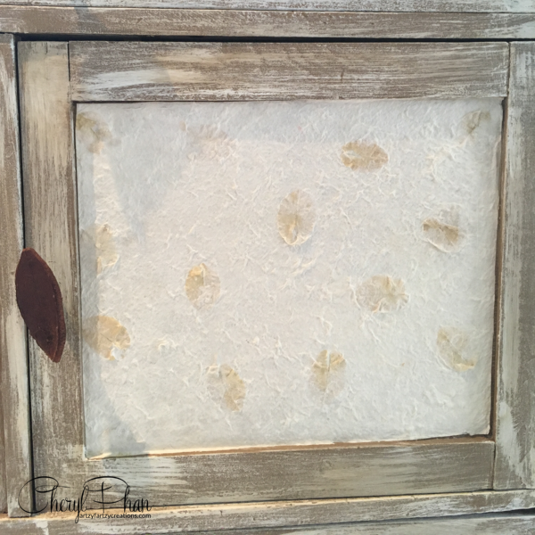 Weathered Look Furniture-closeup-Artzy Fartzy Creations