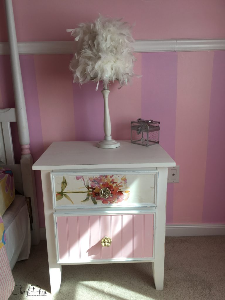 Update Your Furniture with Wallpaper in 2 Easy Steps - Wallpaper Nightstand