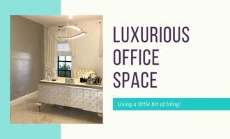 Create a luxurious office space with a little bling_Cheryl_Phan