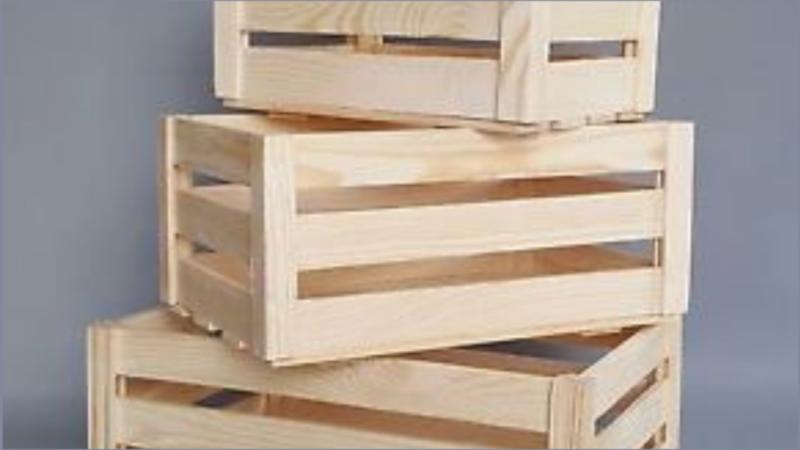 How to Design a custom wood crate coffee table | Cheryl Phan