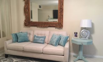 Budget-Friendly Home Makeovers - Mirror Makeover by Cheryl Phan @ ArtzyFartzyCreations.com