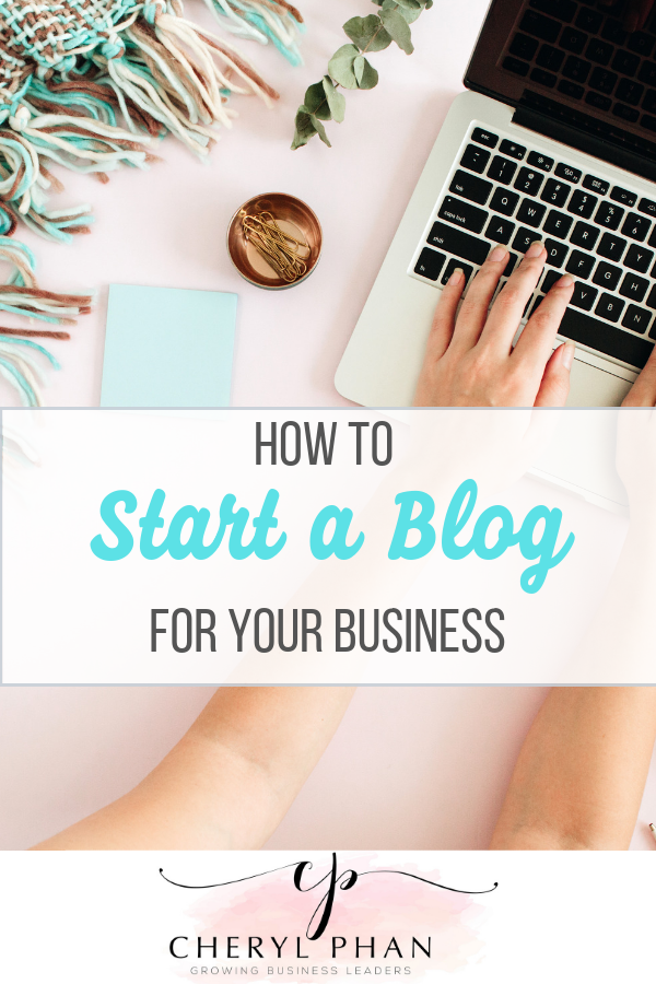 How to start a blog for your creative business by Cheryl Phan of ArtzyFartzyCreations.com