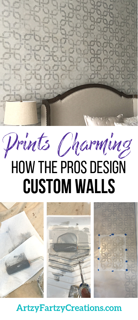 How the pros design custom walls and how they get their inspiration by Cheryl Phan @ ArtzyFartzyCreations.com