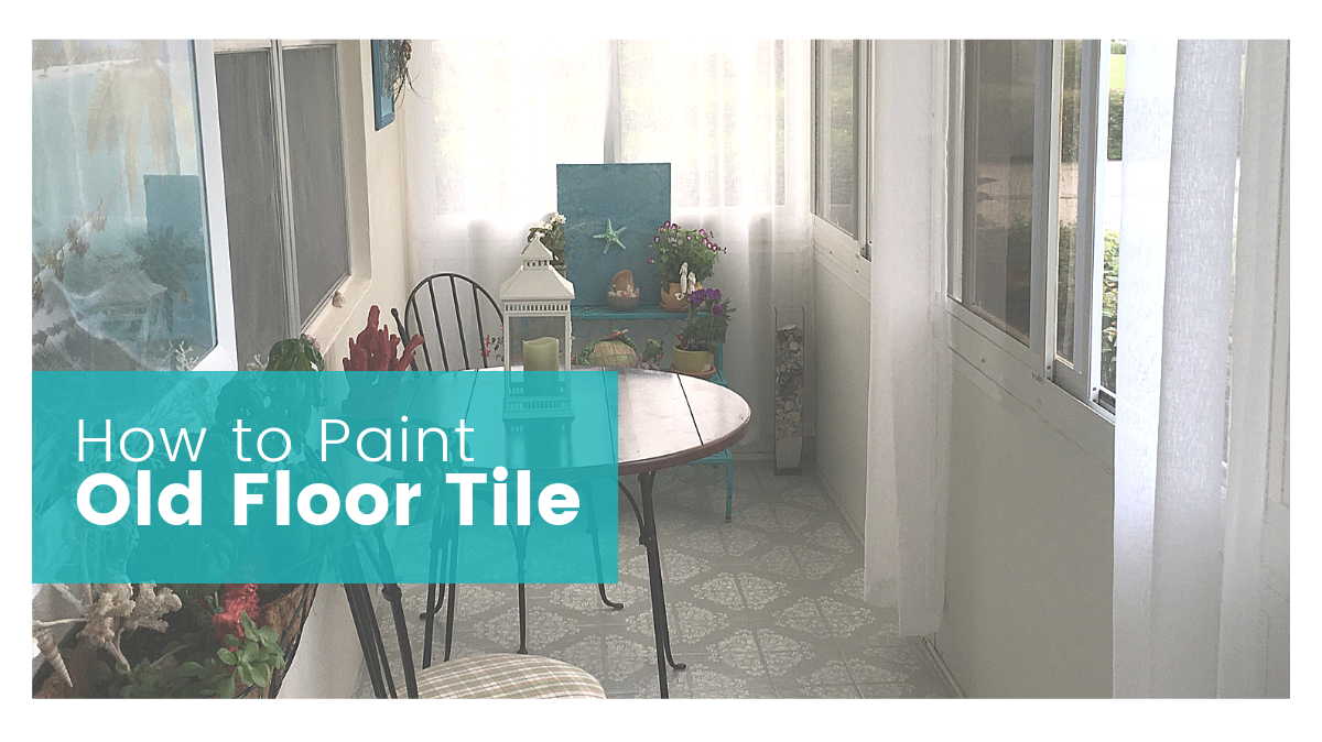 How to Paint Old Outdated Tile to Look Fresh and New
