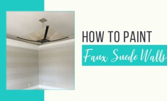 How to paint suede walls_Cheryl Phan_ArtzyFartzyCreations.com