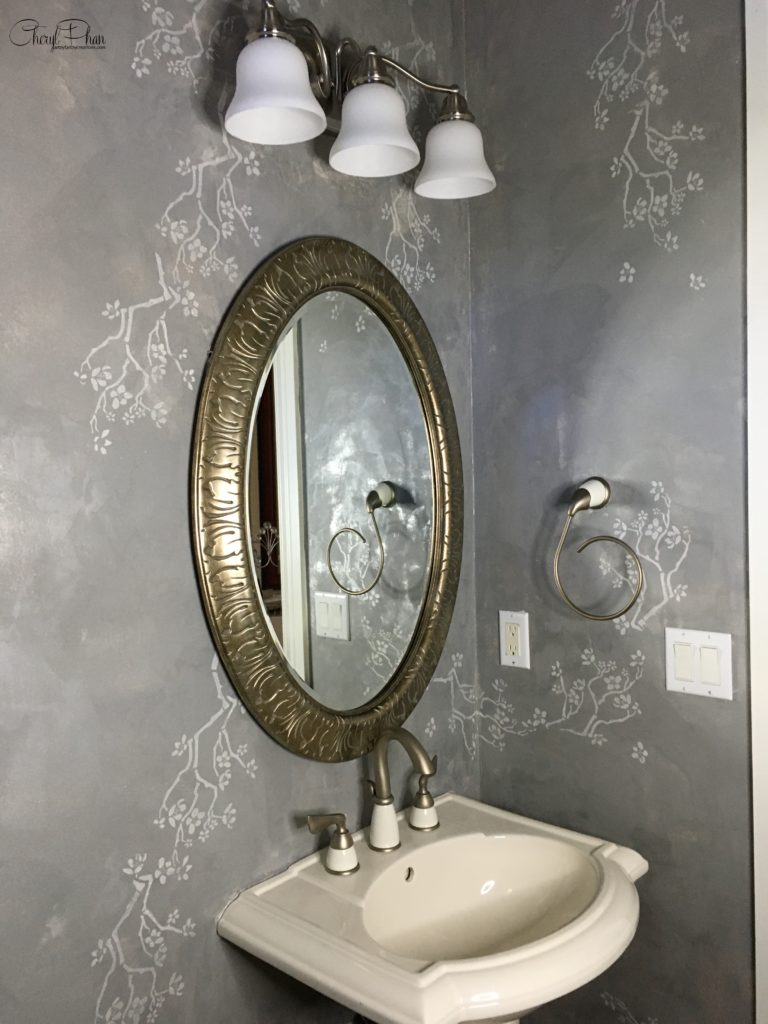 Steal This Stunning Decorative Finish for Your Empty Walls by Cheryl Phan