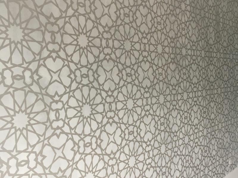 Allover stencil Design