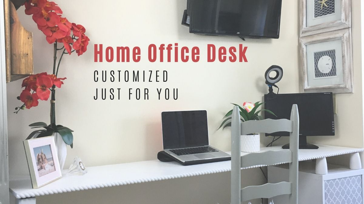 Build a Custom Office Desk to Suit Your Individual Style