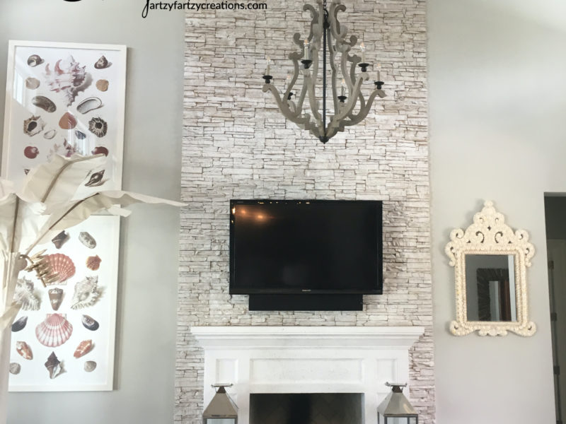 White Was Fireplace