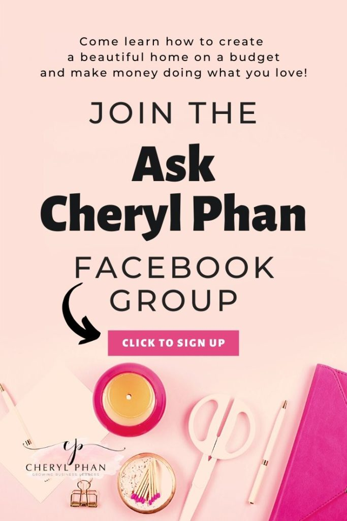 Welcome to Ask Cheryl Phan Facebook Group
