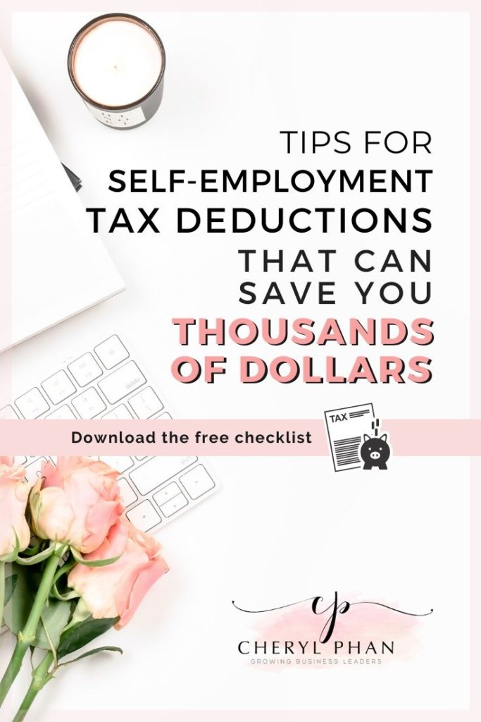 What you can write off on your taxes as a a self-employed business owner