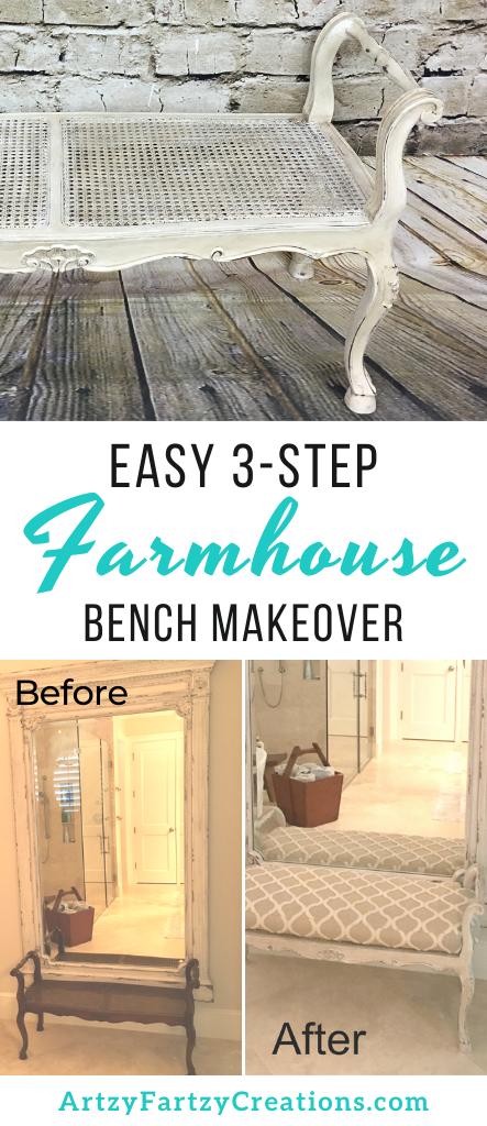 3 Easy Steps to Create a Farmhouse Finish