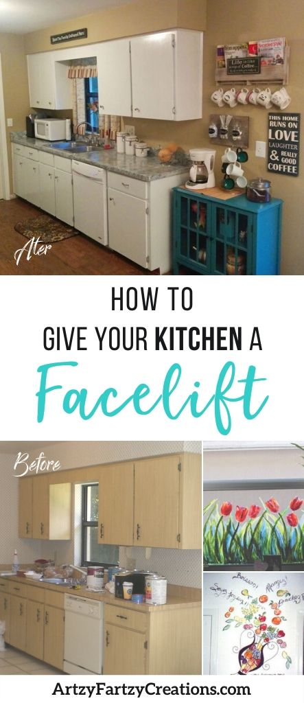 How to give your kitchen a facelift
