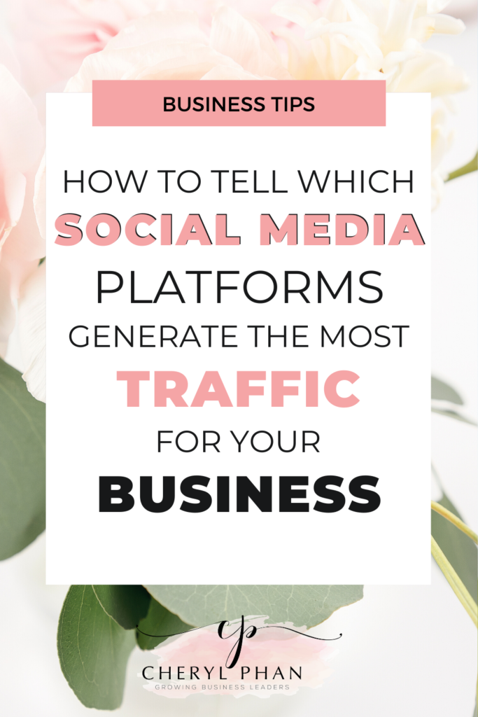 How to find out what social media platforms are generating the most traffic for your business