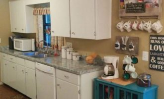 How to give your kitchen a facelift - tinas kitchen after