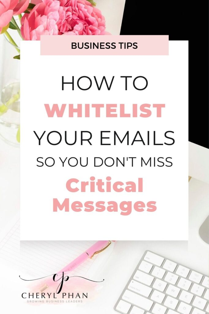 How to Whitelist Your Emails