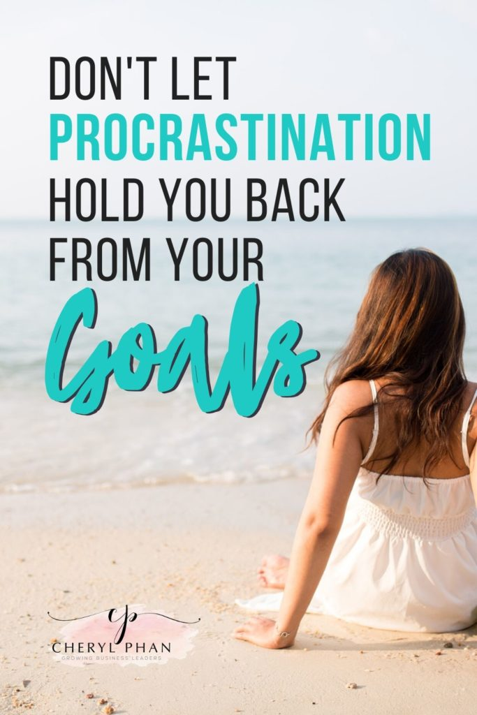 Is procrastination holding you back from your goals