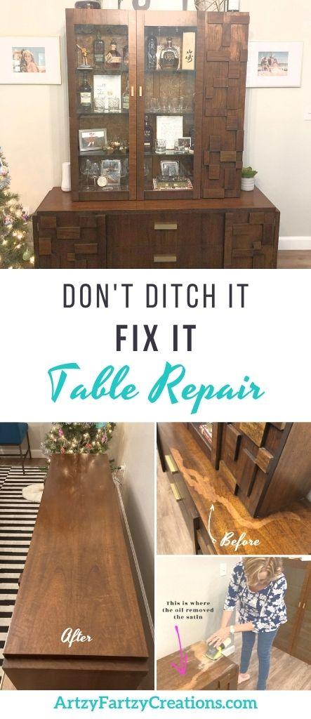 Don't ditch it-Fix it by Cheryl Phan