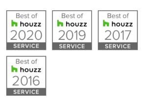 Houzz Awards 2016-2020