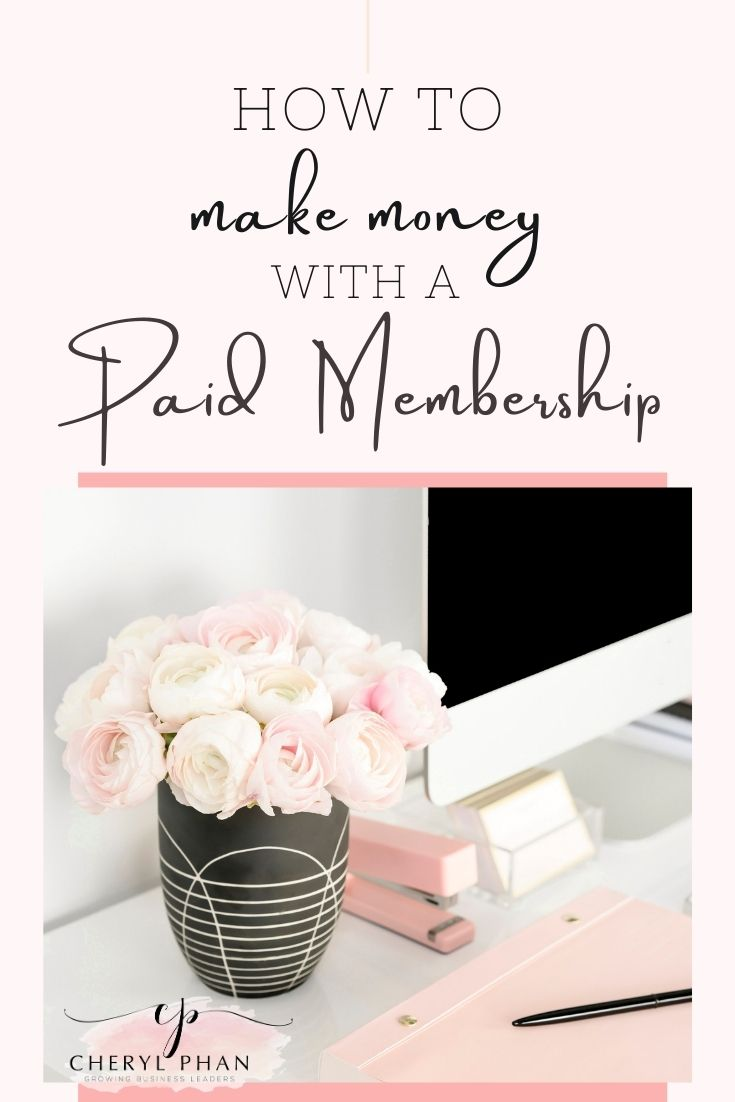 How to Make Money with a Paid Membership