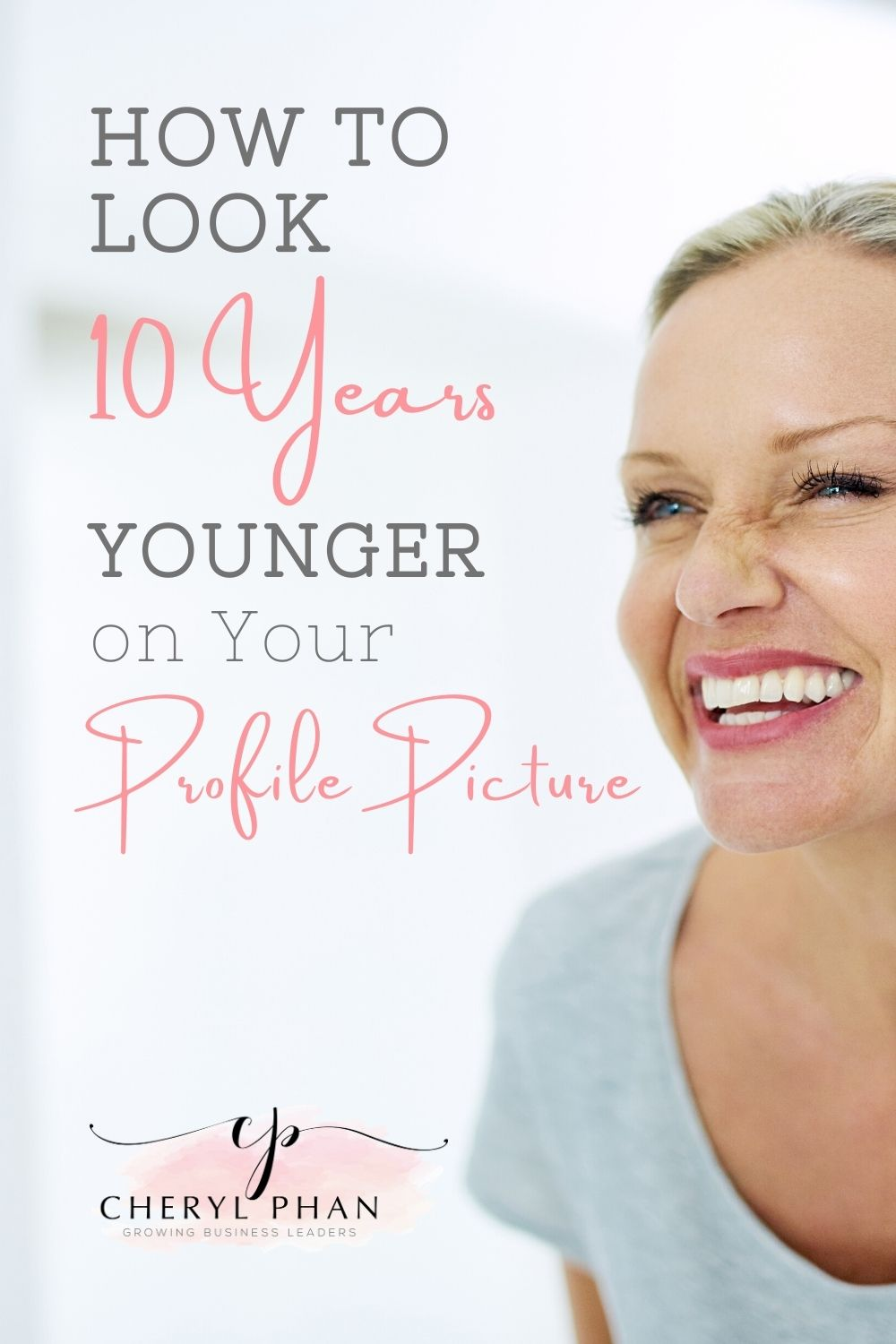 How to look 10 years younger in your photos
