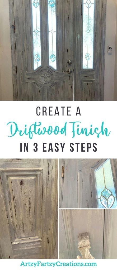 How to Create a Woodgrain Finish by Cheryl Phan - ArtzyFartzyCreations.com