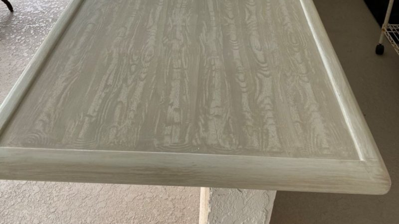How to create a simple wood grain finish_ArtzyFarztyCreations