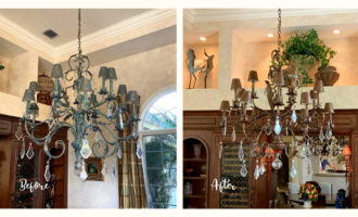 Paint a Chandelier by Cheryl Phan