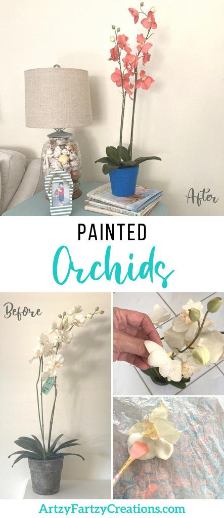 How to Paint Orchids_ArtzyFartzyCreations.com