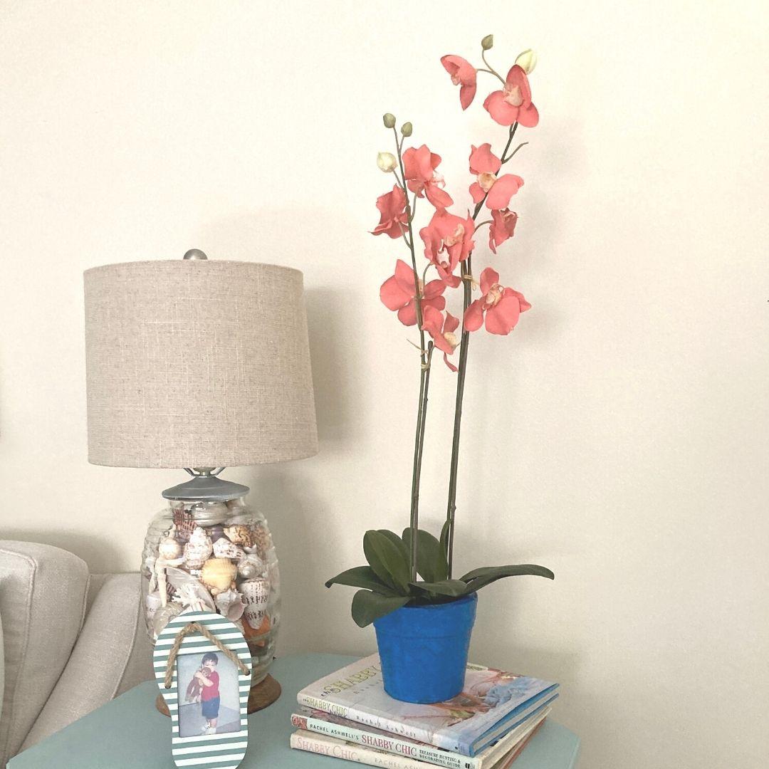 Painted Orchid - ArtzyFartzyCreations.com