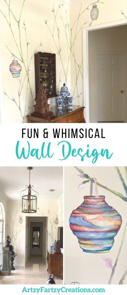 Finding Inspiration - fun and whimsical wall design_Cheryl Phan
